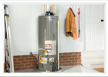 newly installed water heater